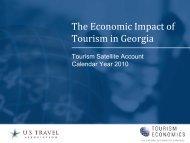 The Economic Impact of Tourism in Georgia - Georgia Department of ...