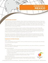 MEXICO - Georgia Department of Economic Development