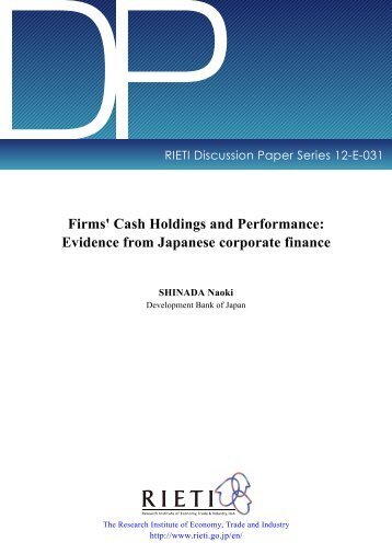 a study on the relationship of corporate capital structure and the firms performance