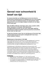 Gevoel voor schoonheid & besef van tijd - Rijksmuseum
