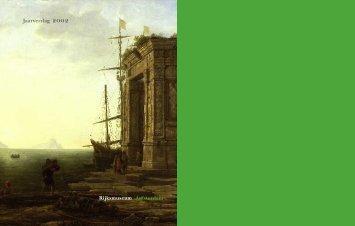 Jaarverslag 2002 - Rijksmuseum