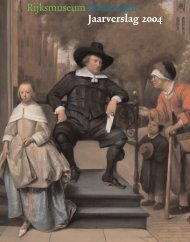 Jaarverslag 2004 - Rijksmuseum