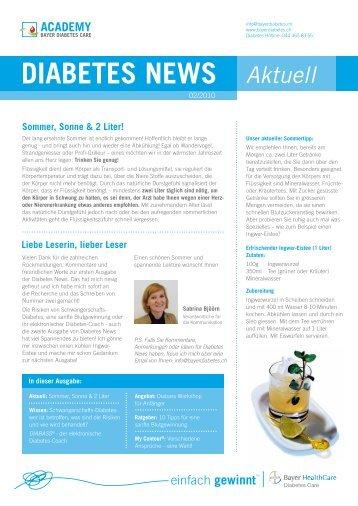Diabetes News 2 - Bayer Diabetes Care Schweiz