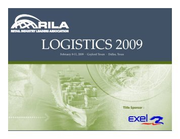 LOGISTICS 2009
