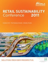 Retail SuStainability Conference 2011 - Retail Industry Leaders ...
