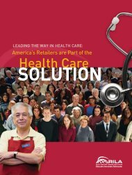Health Care - Retail Industry Leaders Association