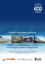 Certified Automobile Logistician Practice-oriented intensive course for