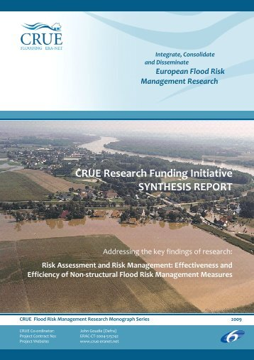 CRUE 1st Research Funding Initiative_Synthesis report - RIMAX