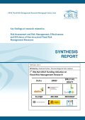 CRUE 1st Research Funding Initiative_Synthesis report - RIMAX - Page 3