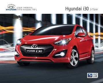 E-Prospekt Hyundai i30 3-Türer - Stadt-Garage Rimini AG
