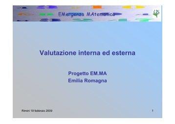 Valutazione interna ed esterna - direzione didattica rimini 4