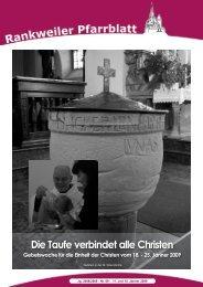Die Taufe verbindet alle Christen