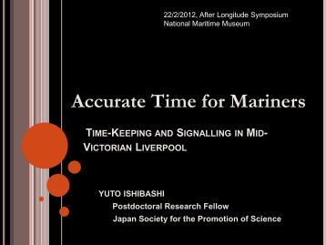 Timeballs and the Synchronisation of Clocks in mid-Victorian Liverpool