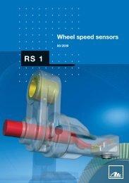 RS1 Wheel speed sensors (pdf, 2 MB) - ATE