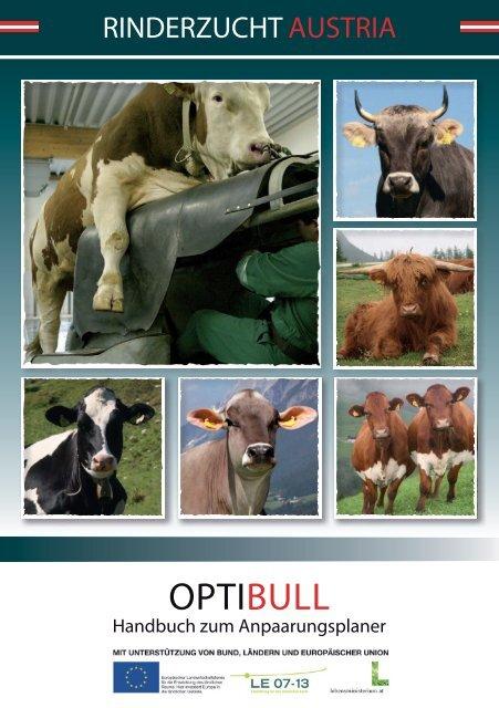 OptiBull - Handbuch zum Anpaarungsplaner - Braunvieh Tirol