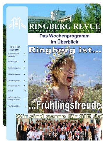 RINGBERG REVUE - Ringberg Resort Hotel
