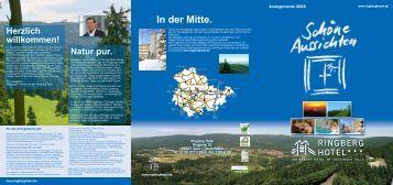 Arrangementflyer 2009.indd - Ringberg Resort Hotel