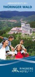 Arrangements 2011 neu.indd - Ringberg Resort Hotel
