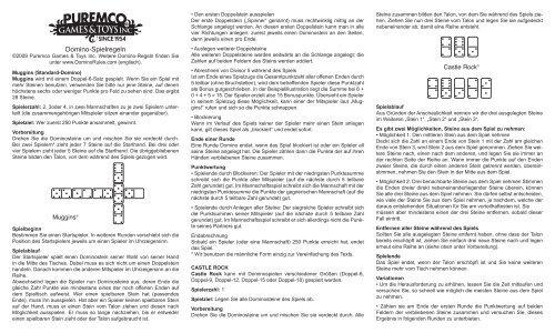 Domino Spielregeln
