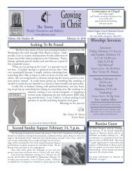 Tower Newsletter, Issue 156, Number 40 – February 14, 2010