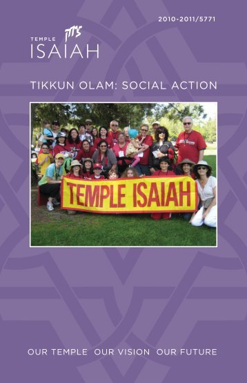 click here - Temple Isaiah