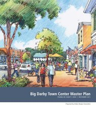 Town Center Master Plan - Brown Township, Franklin County, Ohio