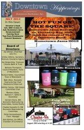 July 28th - Downtown Blackstone Inc.