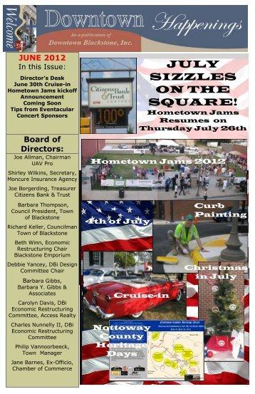 Director's Desk - Downtown Blackstone Inc.