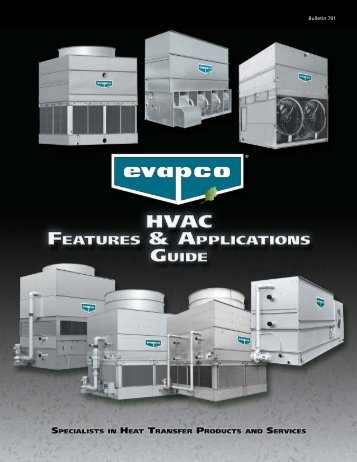 HVAC Marketing Brochure final:HVAC Features & App ... - Evapco
