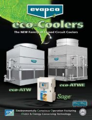 Eco Cooler Highlights Brochure - Evapco