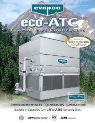 eco-ATC Product Brochure - Evapco