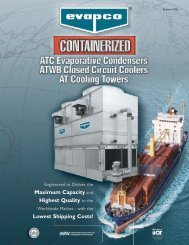 Containerized AT Product Brochure - Evapco