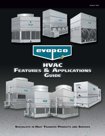 HVAC Features and Applications Guide - Evapco