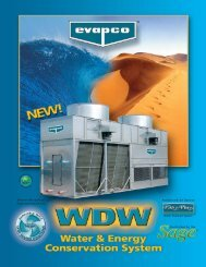 WDW Product Brochure - Evapco