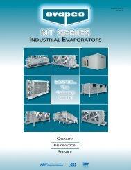 NT Series Marketing Brochure - Evapco
