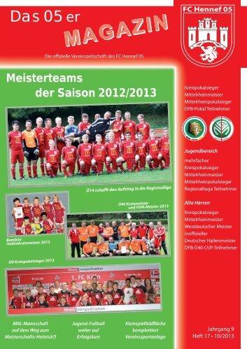 Das 05er - beim FC Hennef 05