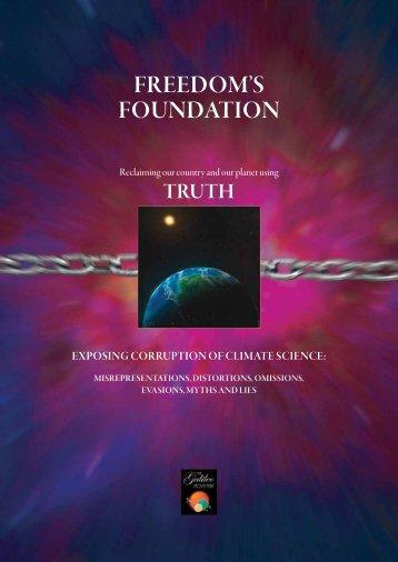 Freedom's FoUNdATIoN - Galileo Movement