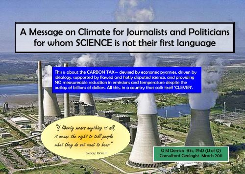 Message on Climate - Galileo Movement