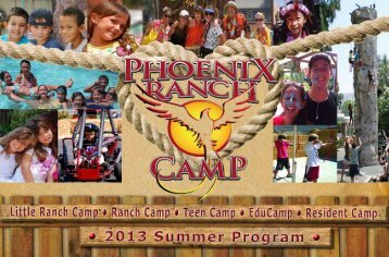 Click here to download the Camp Brochure.