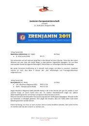 Bericht - Österreichischer Ringsportverband ÖRSV