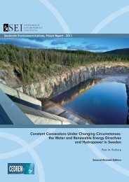 Constant Concessions Under Changing Circumstances: the ... - INBO