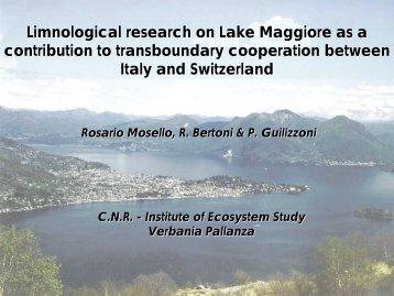 Lake Maggiore - INBO