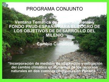 Cuenca Tabasará - INBO