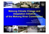Mekong Climate Change and Adaptation Initiative of the ... - INBO