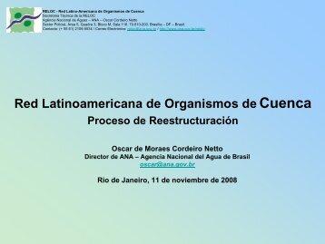 Red Latinoamericana de Organismos de Cuenca - INBO