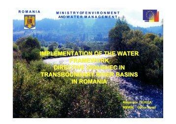 implementation of the water framework directive 2000/60/ec ... - INBO