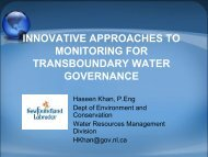 innovative approaches to monitoring for transboundary water ... - INBO