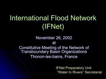 International Flood Network (IFNet) - INBO
