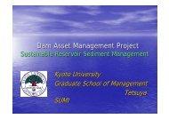 Dam Asset Management Project - INBO