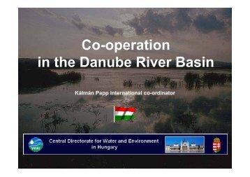 Co-operation in the Danube River Basin - INBO